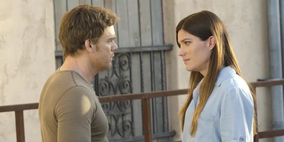 Michael C. Hall and Jennifer Carpenter on Dexter