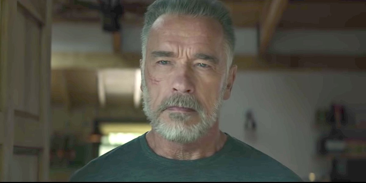 Arnold Schwarzenegger T-800 in Terminator: Dark Fate