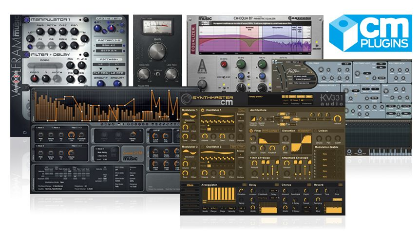 CM Plugins: Full list of our exclusive free VST/AU plugin