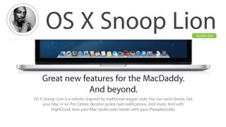 One More Thing Next Mac OS revealed as OS X Snoop Lion