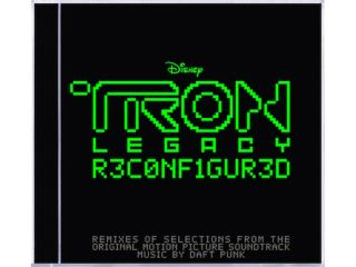 Tron: Legacy R3CONFIGUR3D's artwork has a decidedly 8-bit feel.