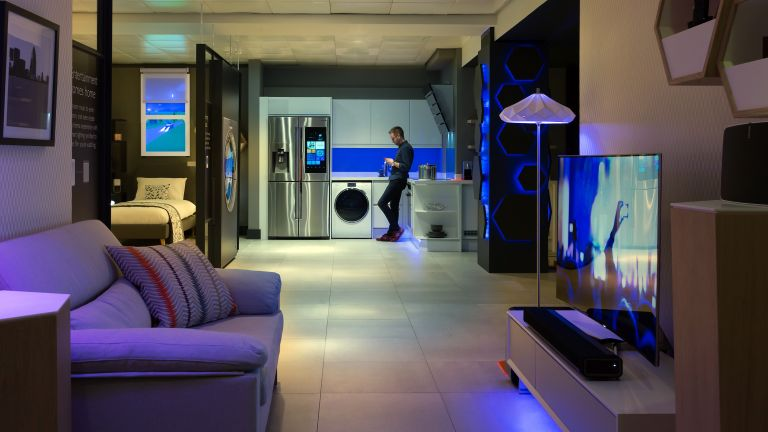 John Lewis's connected apartment features world's most awesome fridge
