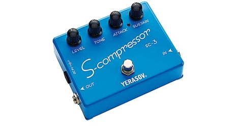 The level knob is the S-Compressor's secret weapon