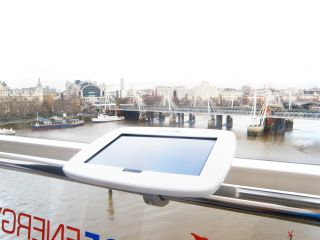 In Pictures: London Eye Galaxy Tab experience