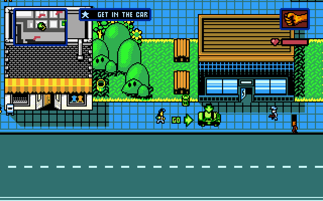 Retro City Rampage for DOS is out now, and Windows 3 1 is