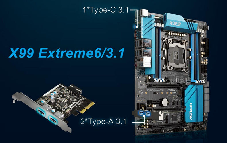 computer motherboard type