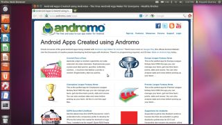 How to make Android apps with Andromo