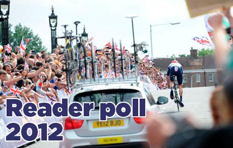 Cycling Weekly reader poll 2012 logo R
