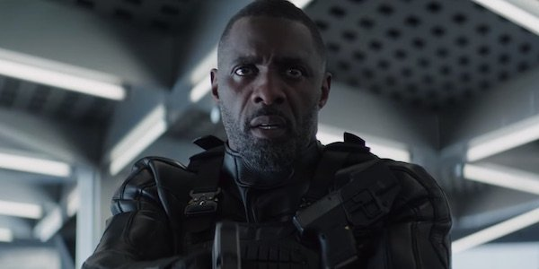 Idris Elba as Brixton in Hobbs and Shaw