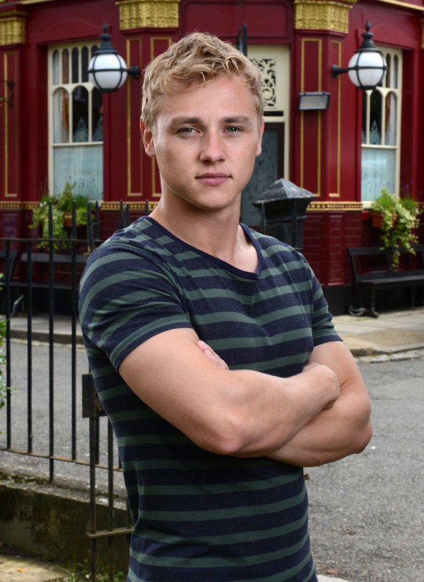 Ben Hardy as EastEnders Peter Beale