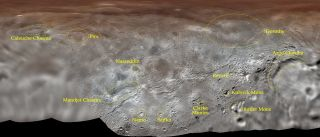 Charon Official names