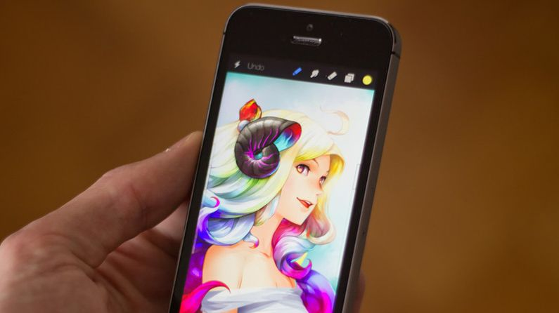 Is this the best iPhone painting app? | Creative Bloq