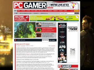 PC Gamer - online presence