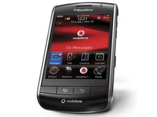 The BlackBerry Storm creates a... well, storm