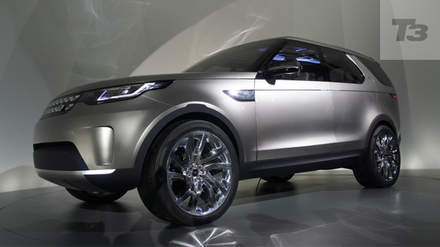 Land Rover Discovery Vision Concept Hands On Preview T3