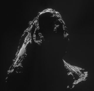 Comet 67P/Churyumov-Gerasimenko on Nov. 2, 2014
