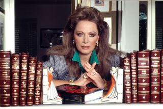 The 'Lady Boss' herself Jackie Collins, author extraordinaire!