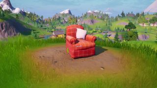 Fortnite lonely recliner, radio station, and outdoor movie theater locations