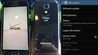Verizon Galaxy S4 Mini leak