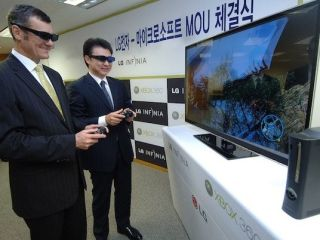 LG signs up 3D gaming deal with Microsoft to promote its new 3D TVs in Korea