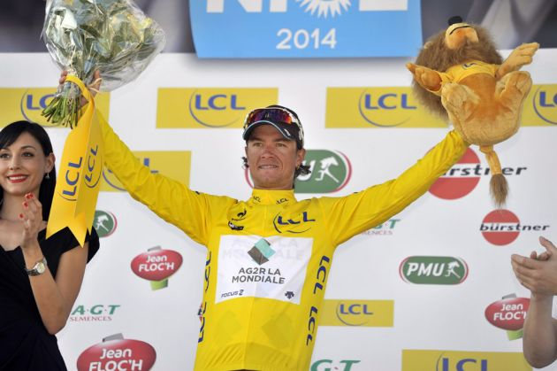 Carlos Betancur wins stage six of the 2014 Paris-Nice