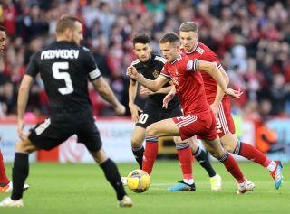 Aberdeen v Qarabag – UEFA Europa Conference League – Play-offs – Second Leg – Pittodrie Stadium