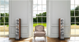 KEF debuts new finishes and custom-install options
