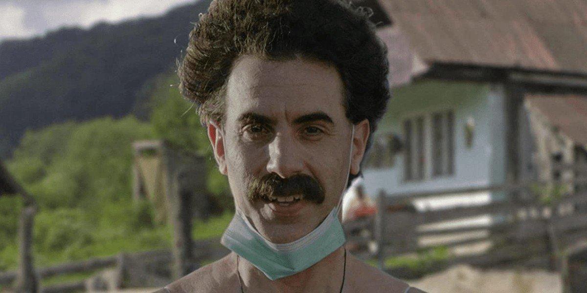 Sacha Baron Cohen as Borat in Borat Subsequent Moviefilm (2020)