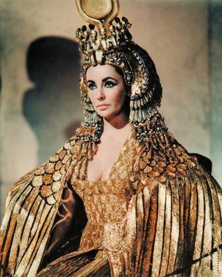 Cleopatra - Elizabeth Taylor stars in the 1963 epic