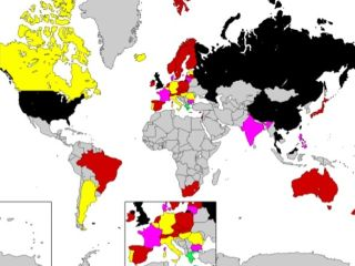 Privacy International's Privacy map