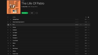 Life of Pablo - Spotify