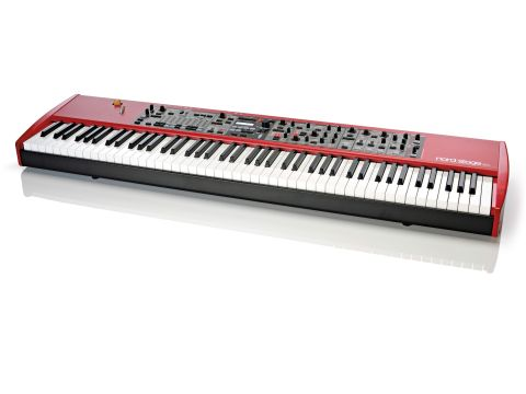 The 88-note Stage EX has hammer-action keys.