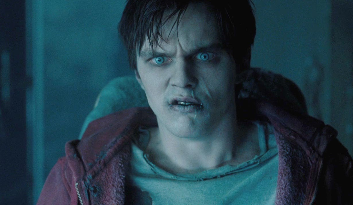 R makes a confused snarl in Warm Bodies.