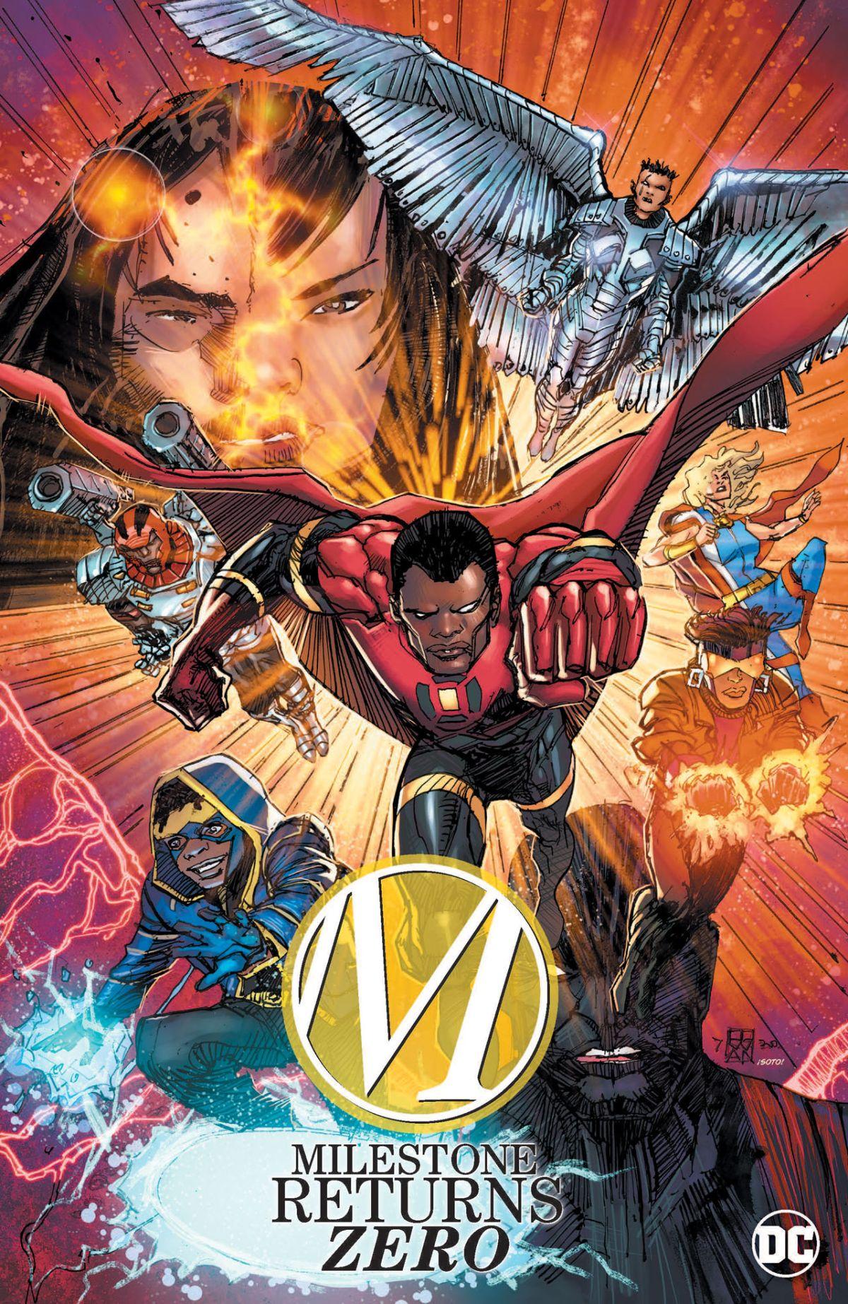 Milestone Comics DC Fandome Static Shock