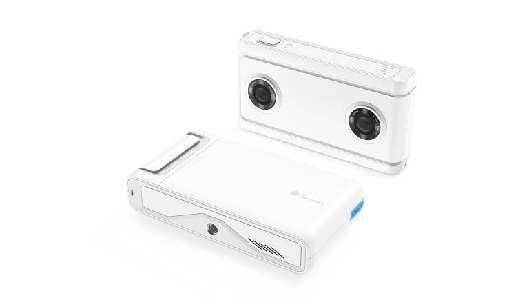 Lenovo Mirage Camera with VR180 capture