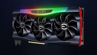 EVGA GeForce RTX 3090 press render