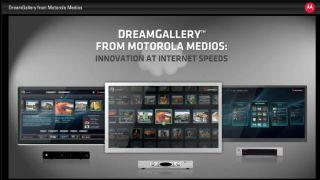 Motorola DreamGallery apes Google TV