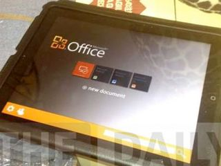 Office on iPad photo isn't real, says Microsoft'