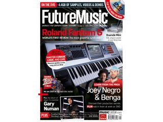 Future Music 200 features a look back through the magazine's archives.