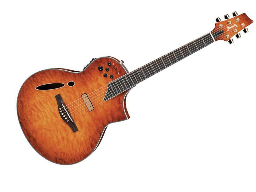 ibanez montage acoustic electric guitar musicradar. Black Bedroom Furniture Sets. Home Design Ideas