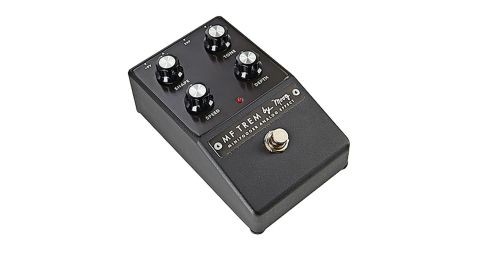 The pedal's control knobs all interact with each other, meaning there's a wealth of tremolo on tap