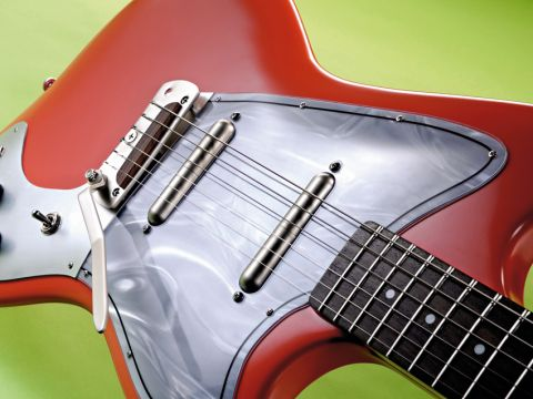Danelectro's latest retro resurrection is reminiscent of a diminutive Jaguar shape