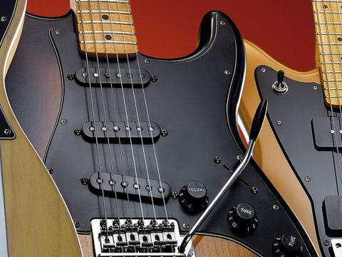 The Strat has mercifully been kept fairly lightweight.