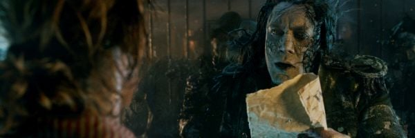 Javier bardem in Pirates of the Caribbean Dead men Tell No Tales