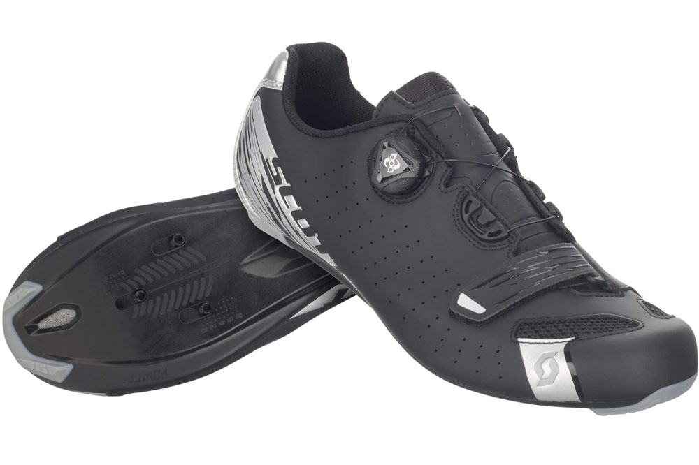 Scott Road Comp Boa Cycling Shoe Black/ Silver 2017