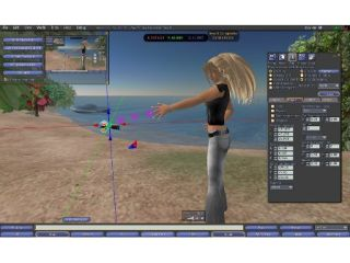 Second Life - be careful who you (virtually) cuddle...
