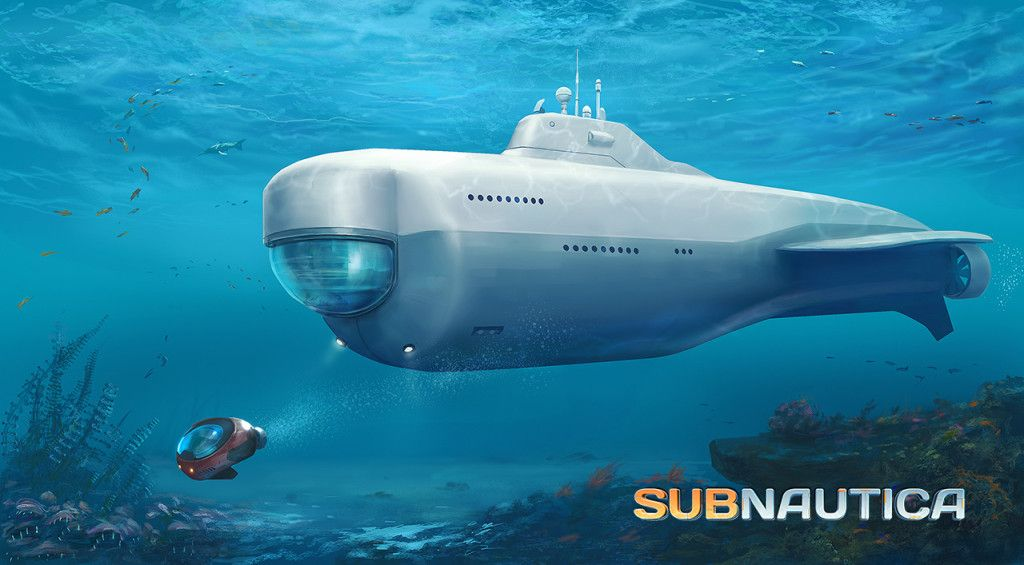 Subnautica early impressions of minecraft under the sea for Real life fishing games