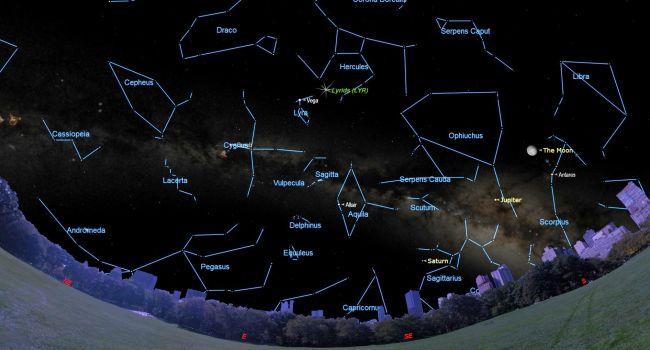 l Lyrid meteor