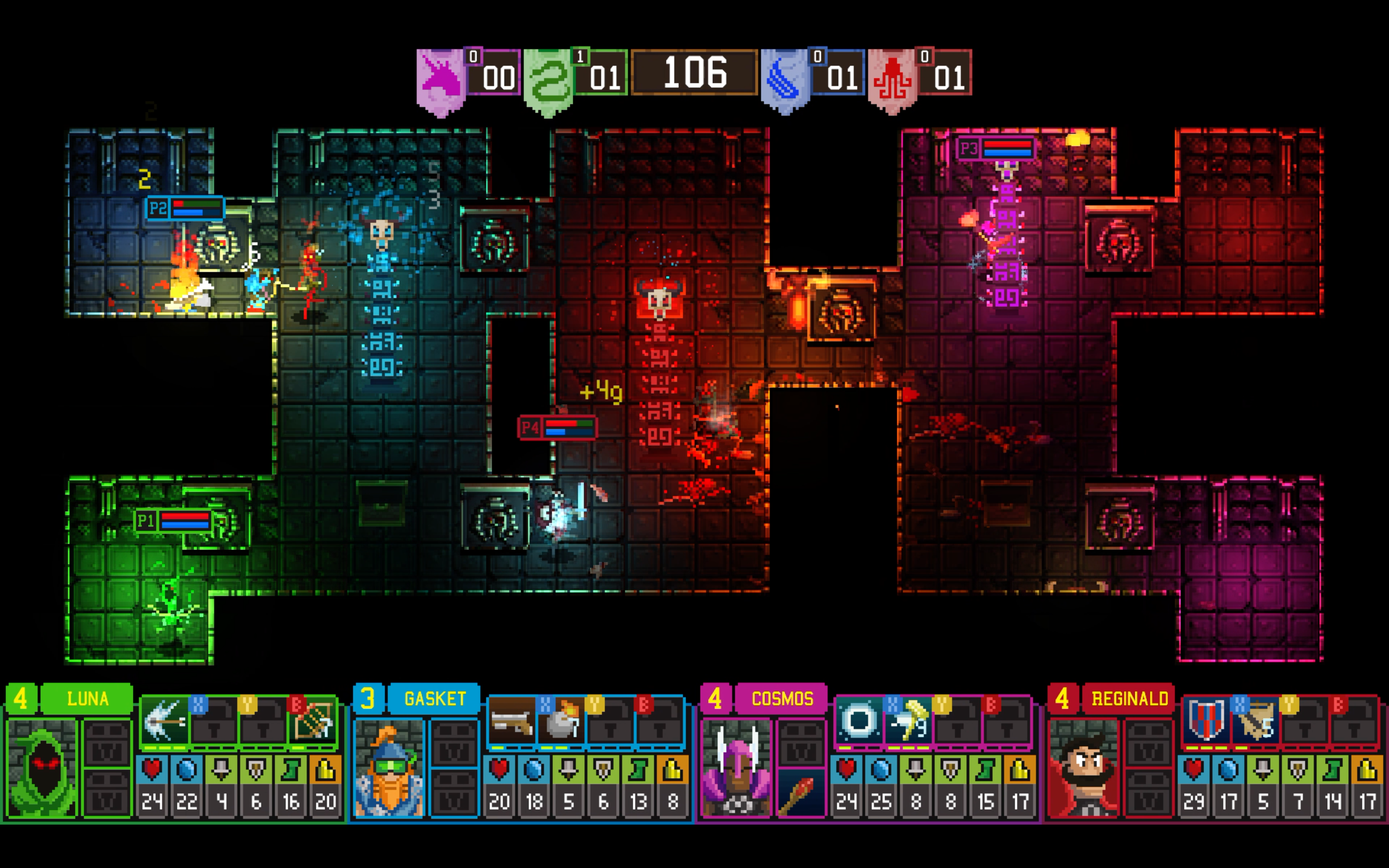 Dungeon League is a four-player party dungeon crawler | PC Gamer