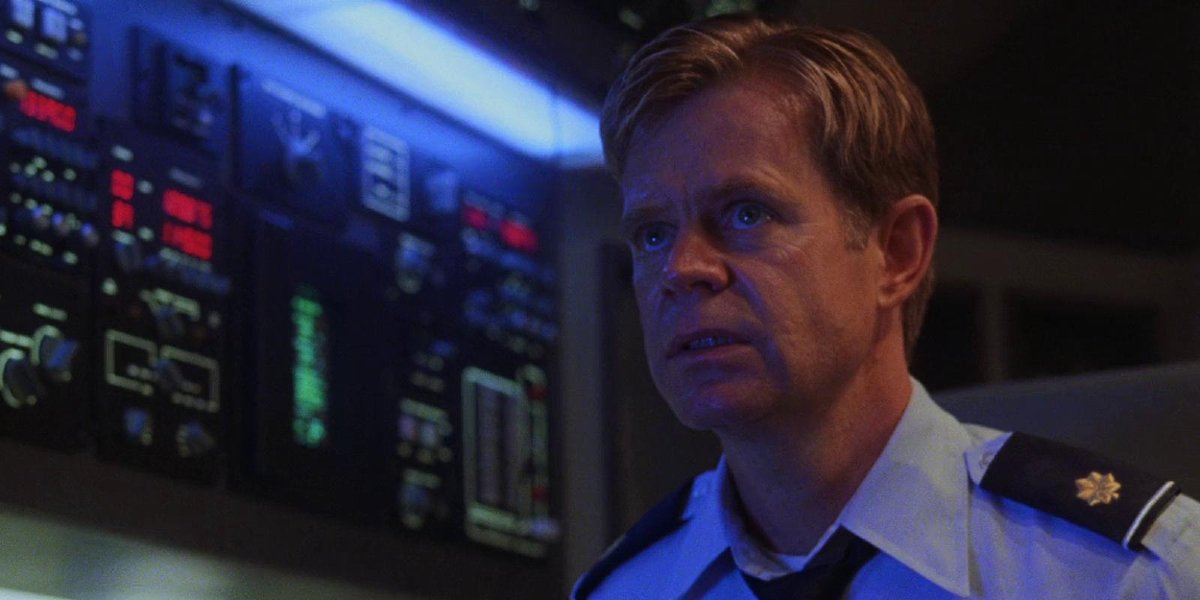 William H. Macy in Air Force One